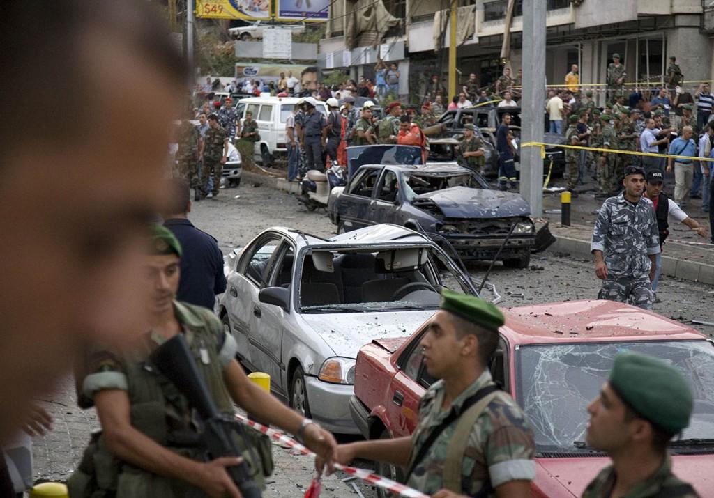 Car Bomb killing Antoine Ghanem Beirtu